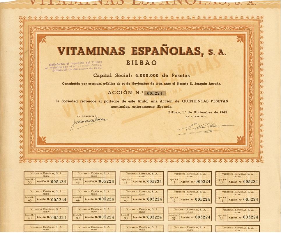 Vitaminas Españolas S.A.