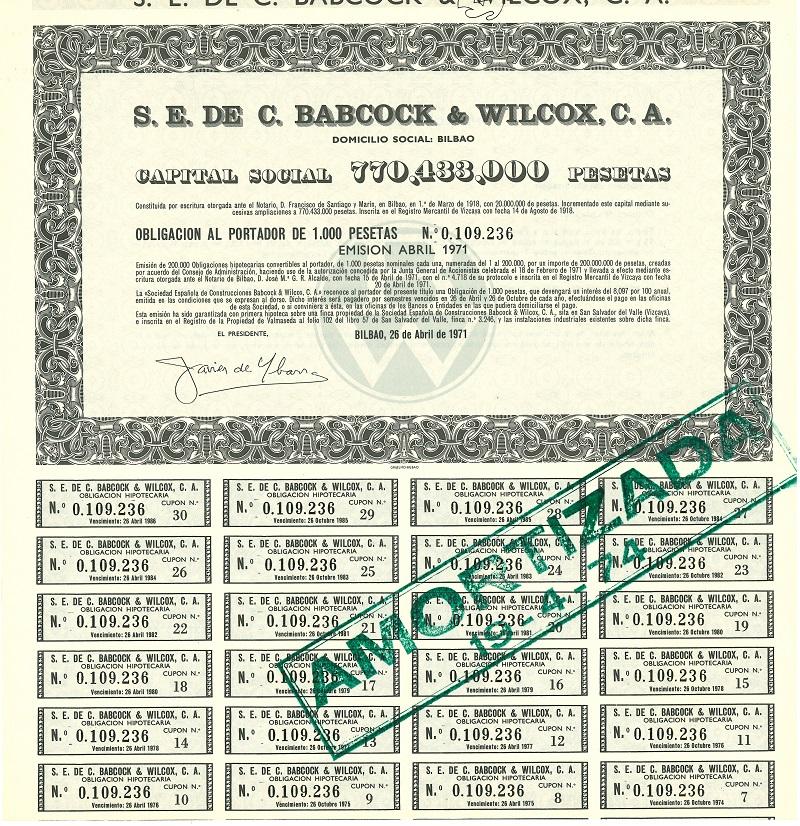 Sociedad Española de Construcciones Babcock y Wilcox