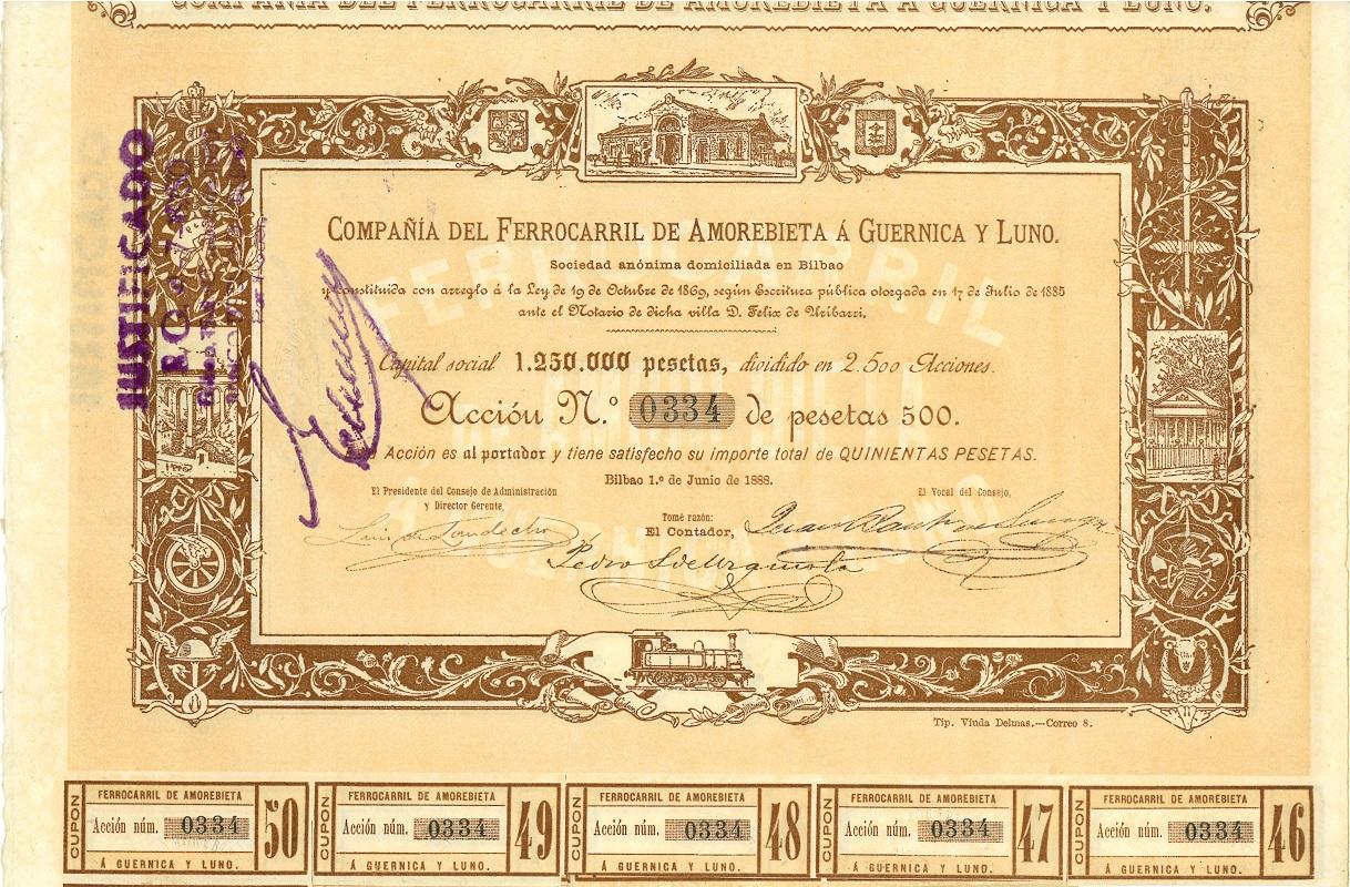 Compañía del Ferrocarril de Amorebieta a Guernica y Lumo