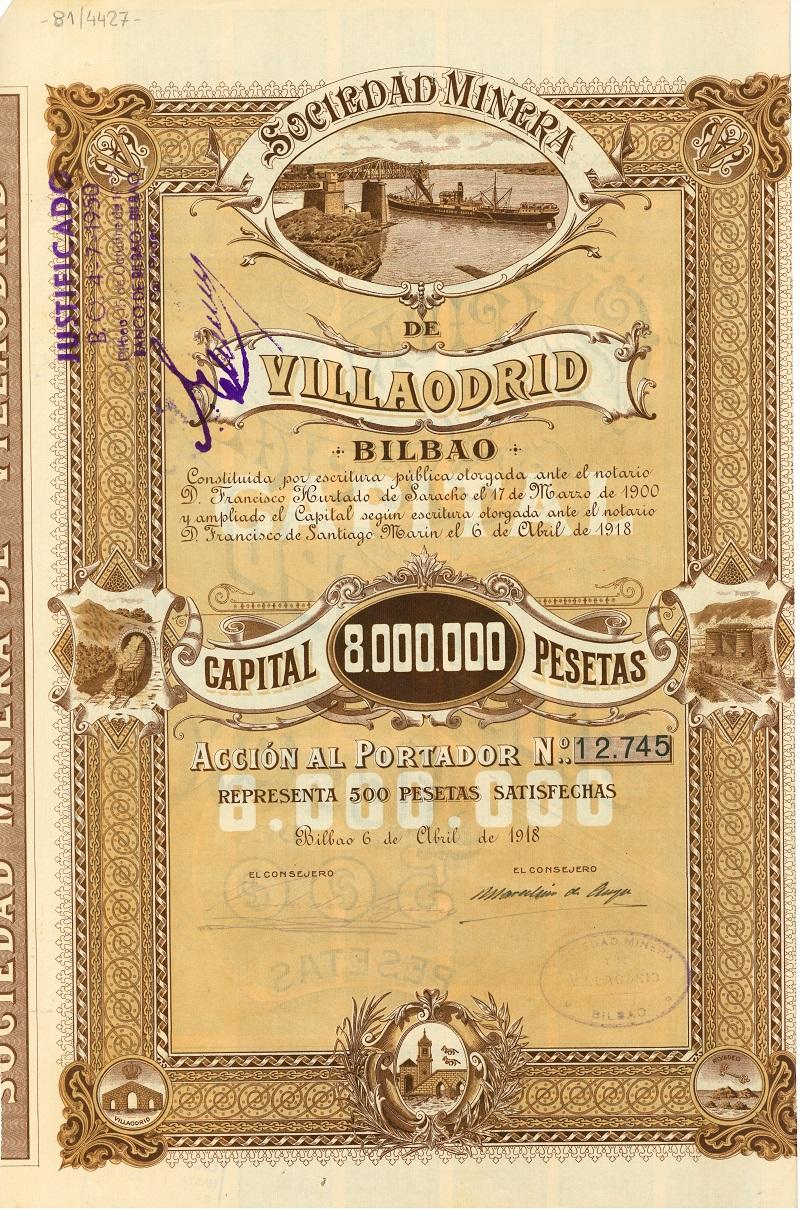 Sociedad Minera de Villaodrid