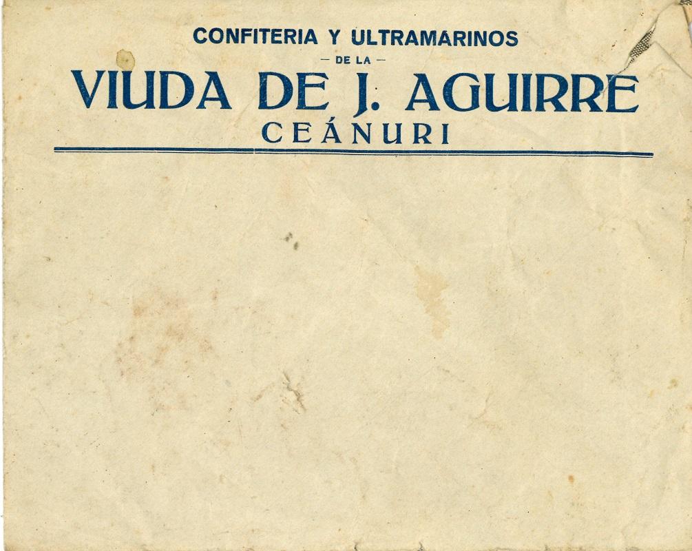 Vda. de J. Aguirre