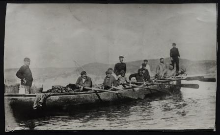 Trainera de pesca, Hondarribia