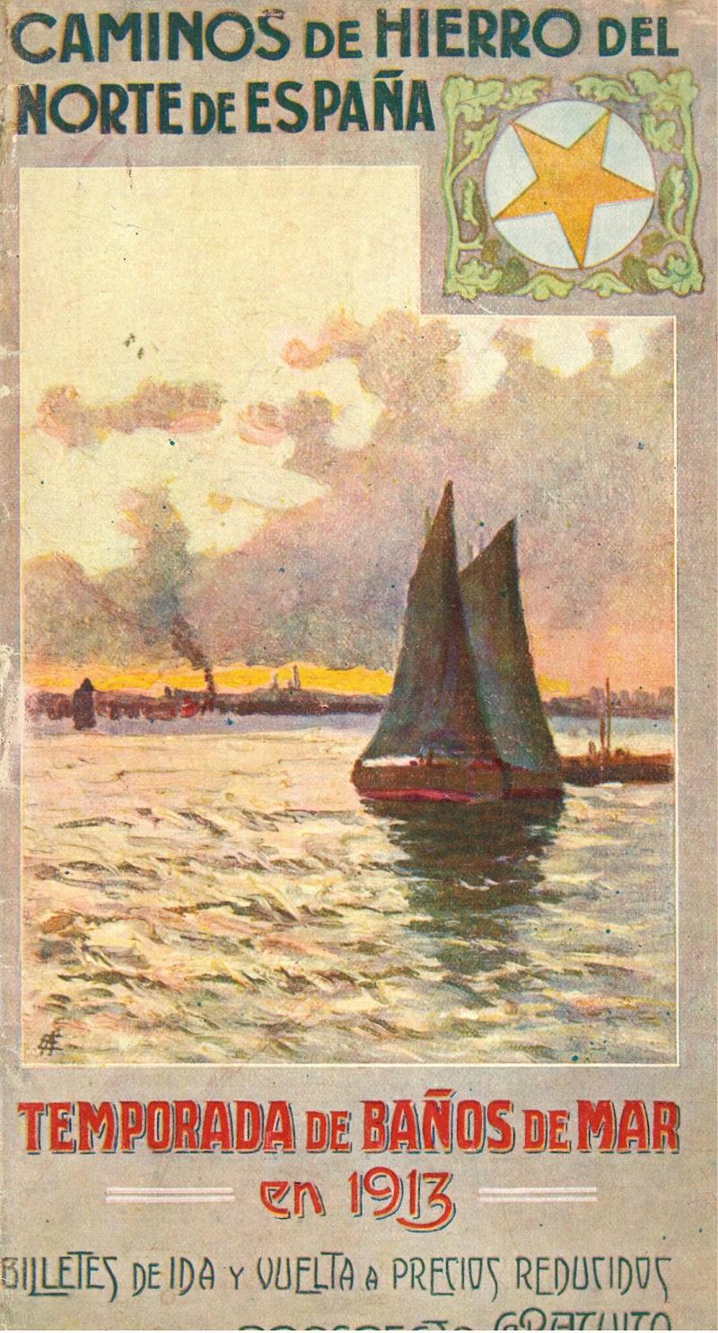 """""""Temporada de baños de mar en 1913"""""""