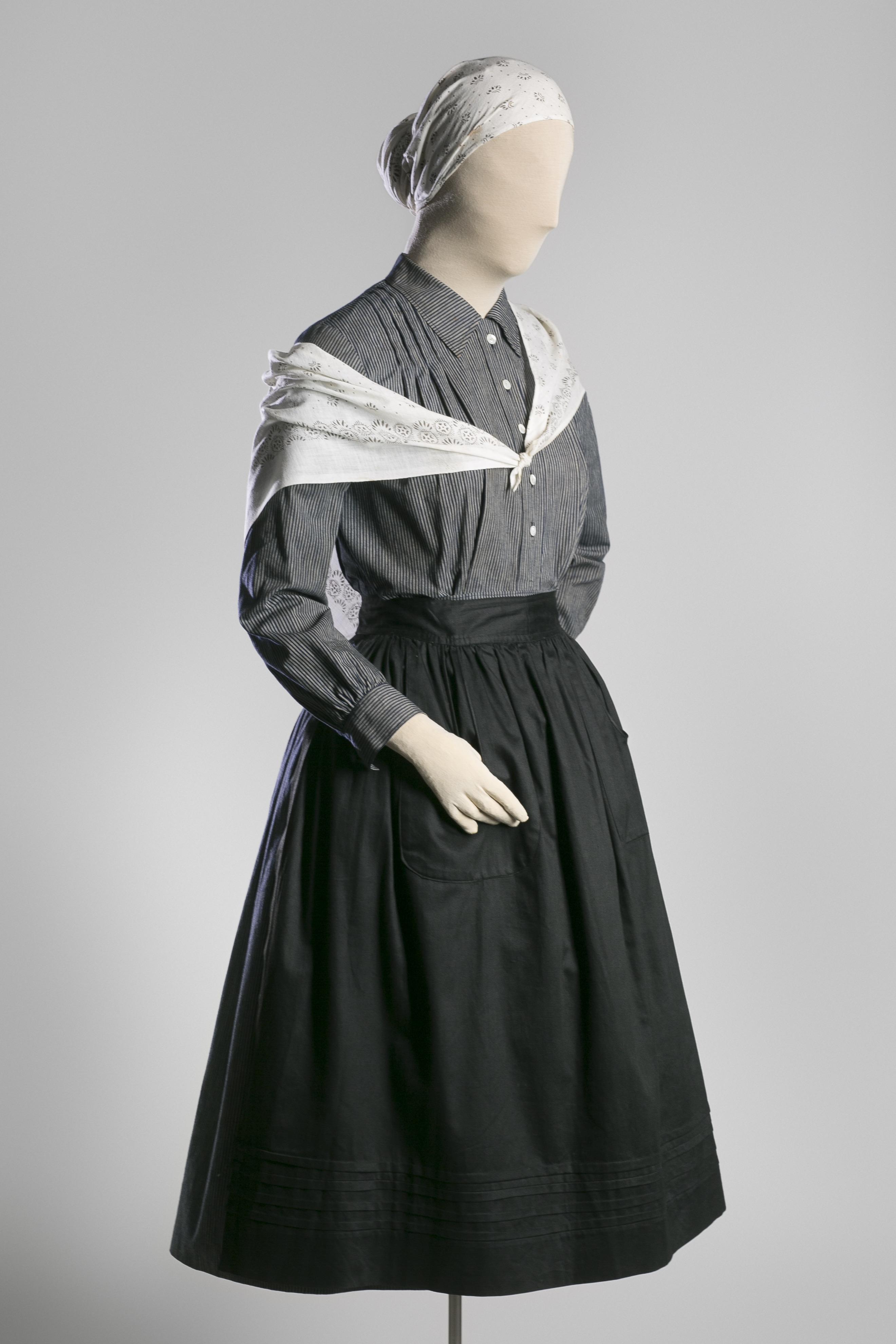 Vestido de casera vasca