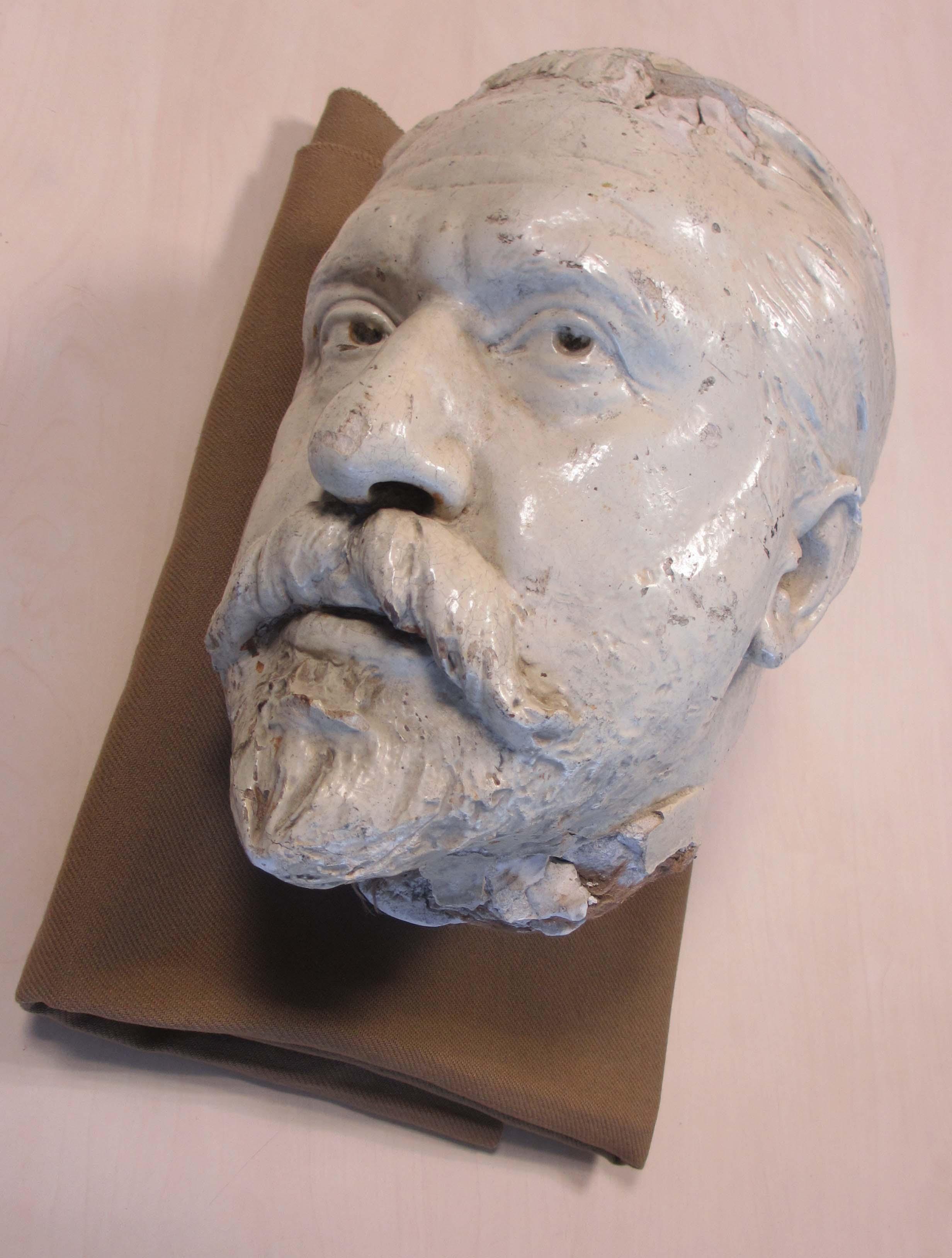 Evaristo Churrucaren bustoaren bozetoa