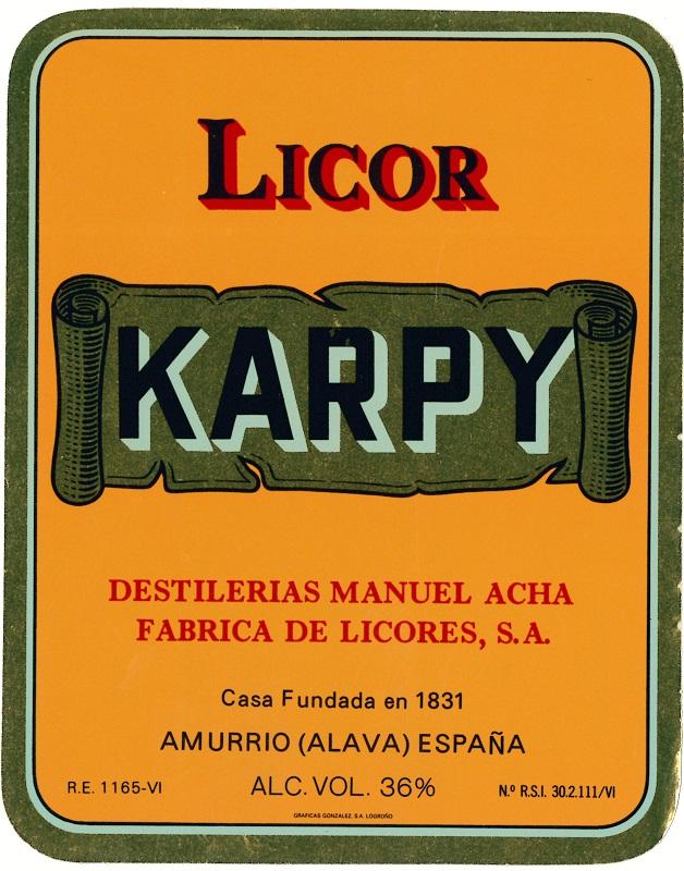 Fábrica de Licores Manuel Acha, Amurrio