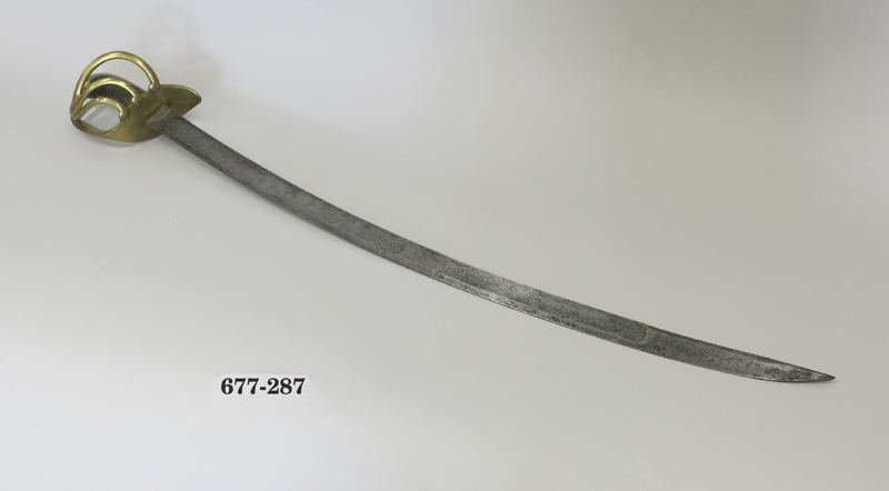 Sable para tropa de caballería ligera modelo 1815