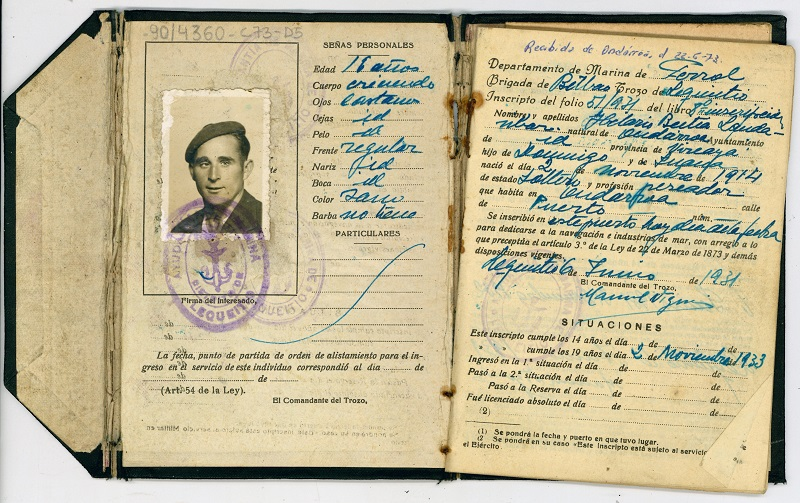 Libreta de Inscripción Marítima