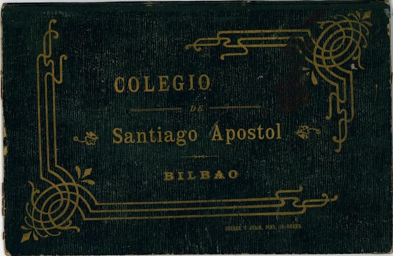 Carpeta del Colegio Santiago Apóstol de Bilbao