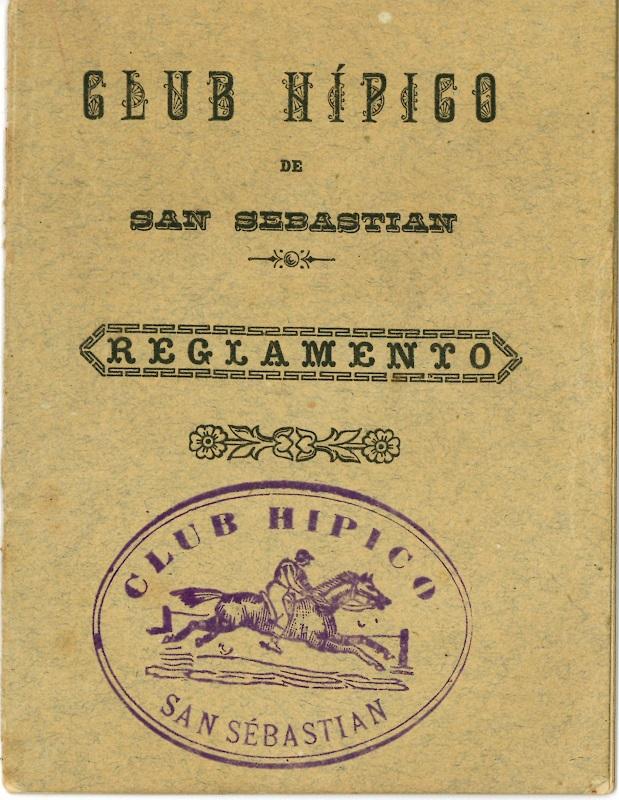 """Club Hípico de San Sebastián. Reglamento"""