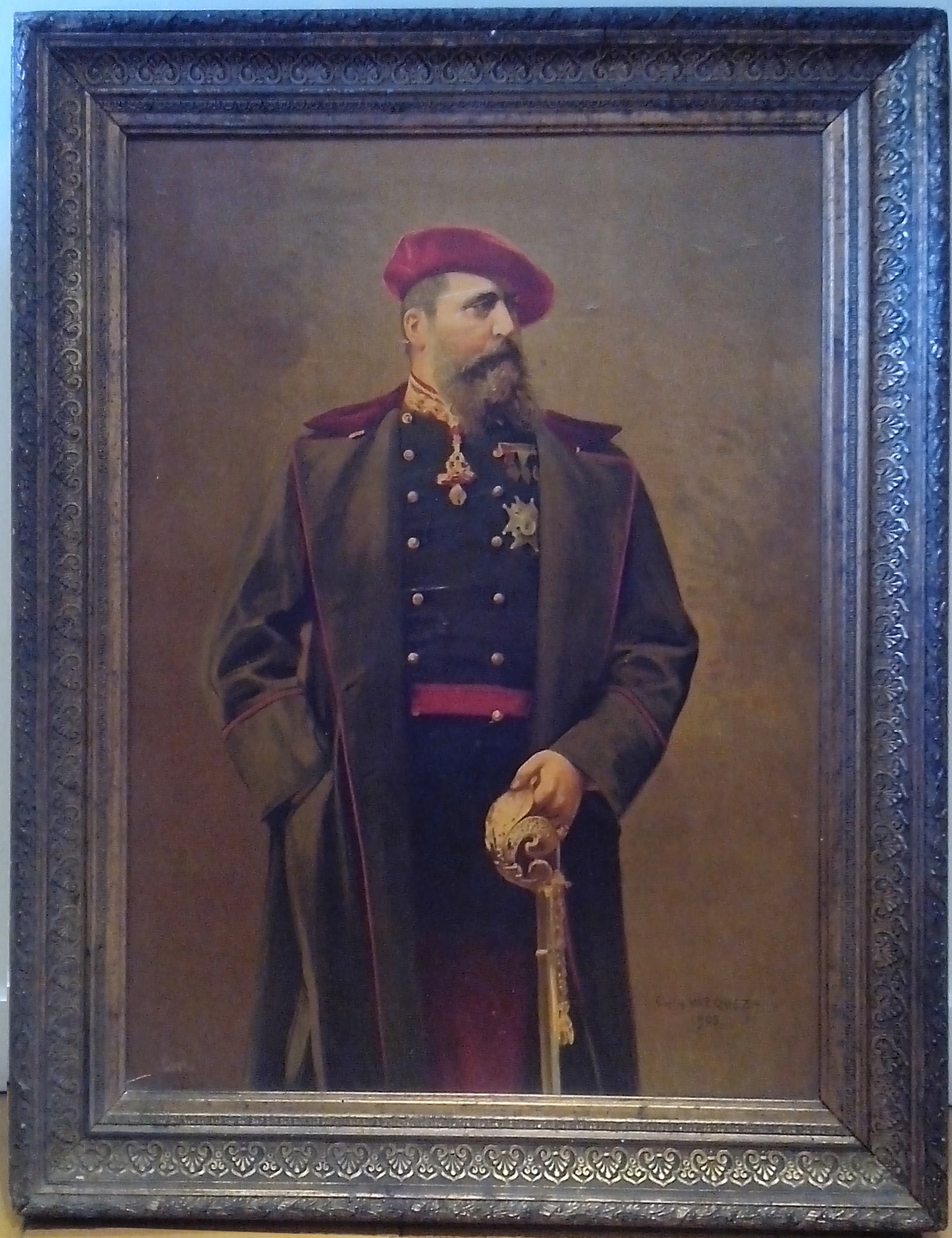Retrato de Carlos VII