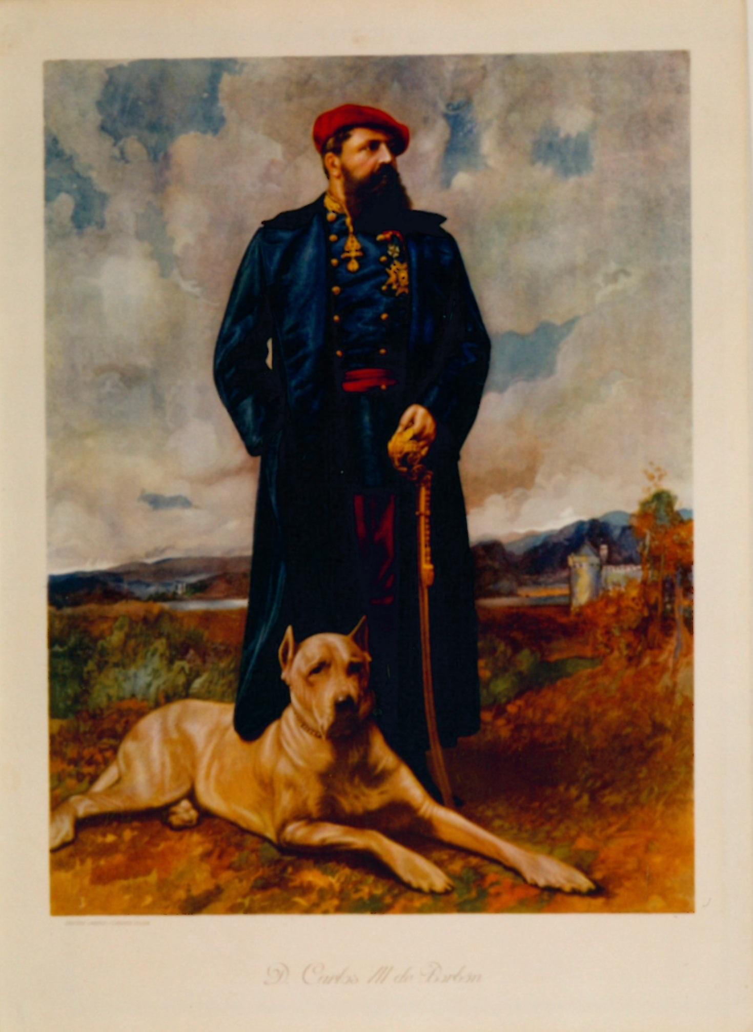 """""""D. Carlos VII de Borbón"""""""