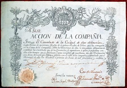 Acción de la Compañía de Caracas