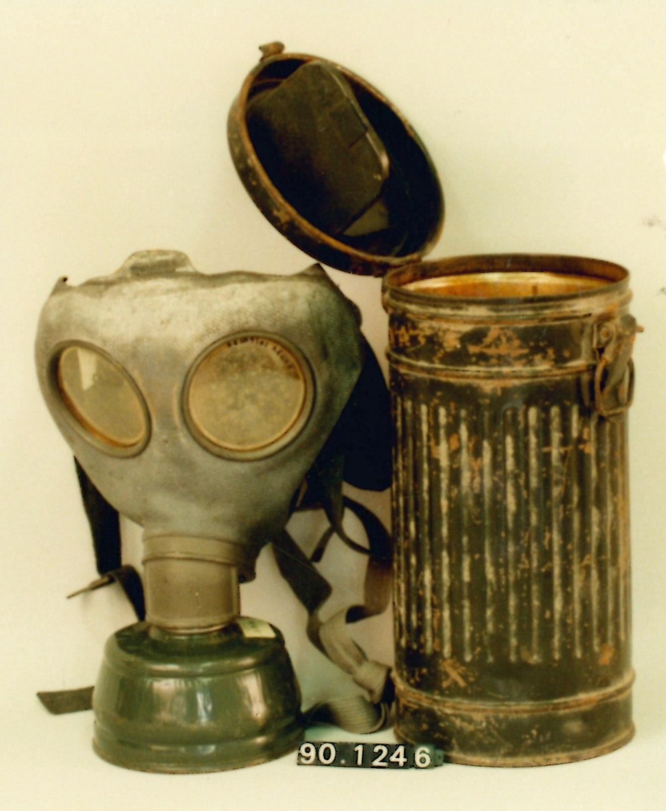 Máscara antigás modelo M38