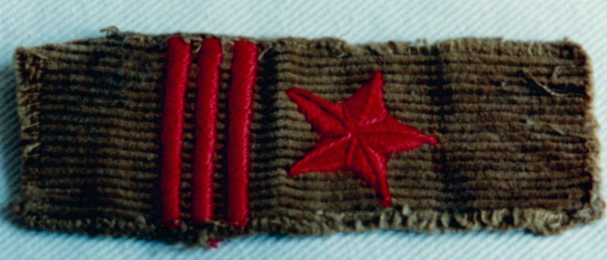 Divisa de capitán del Ejército de Euzkadi
