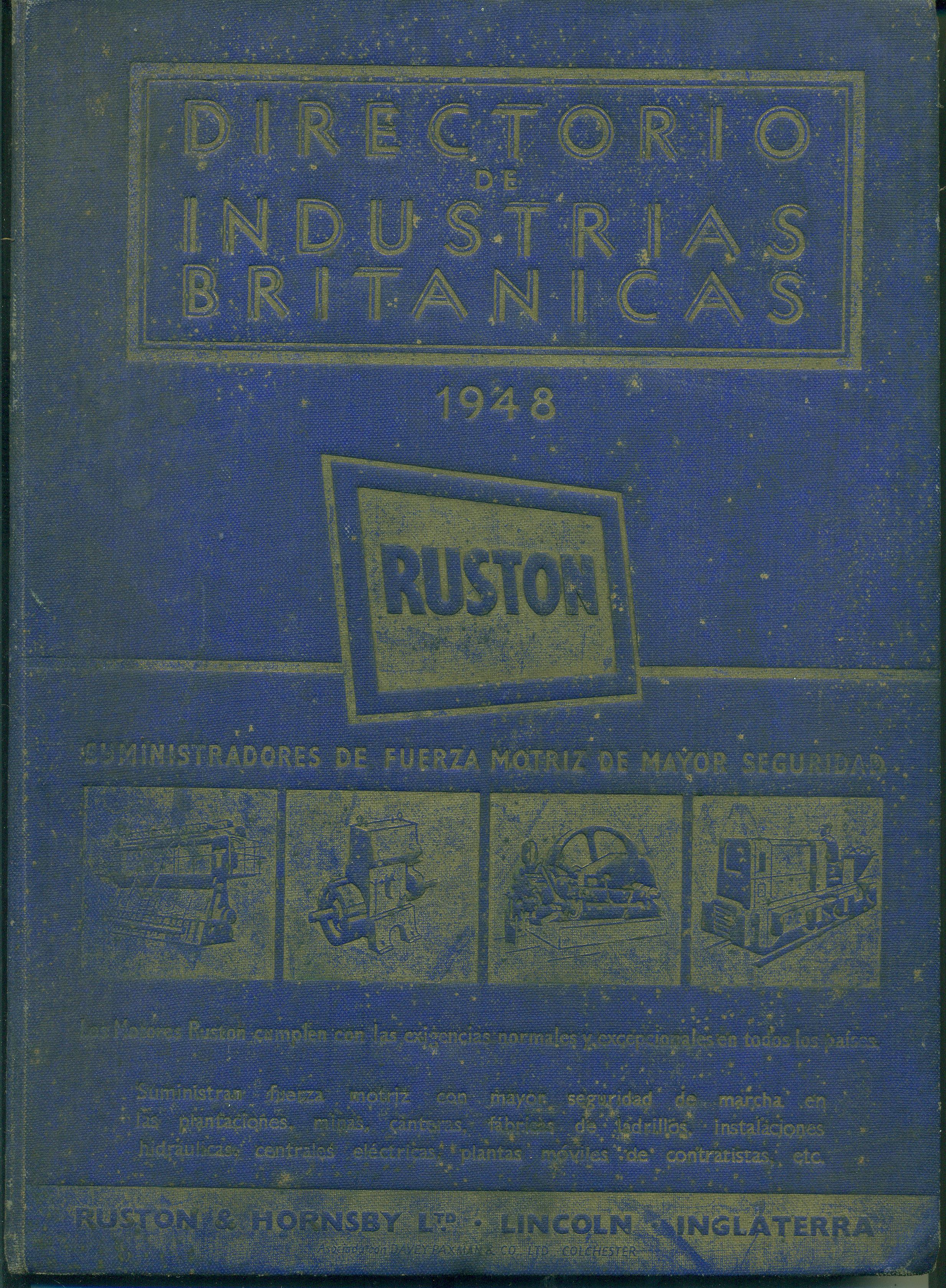 DIRECTORIO DE INDUSTRIAS BRITANICAS