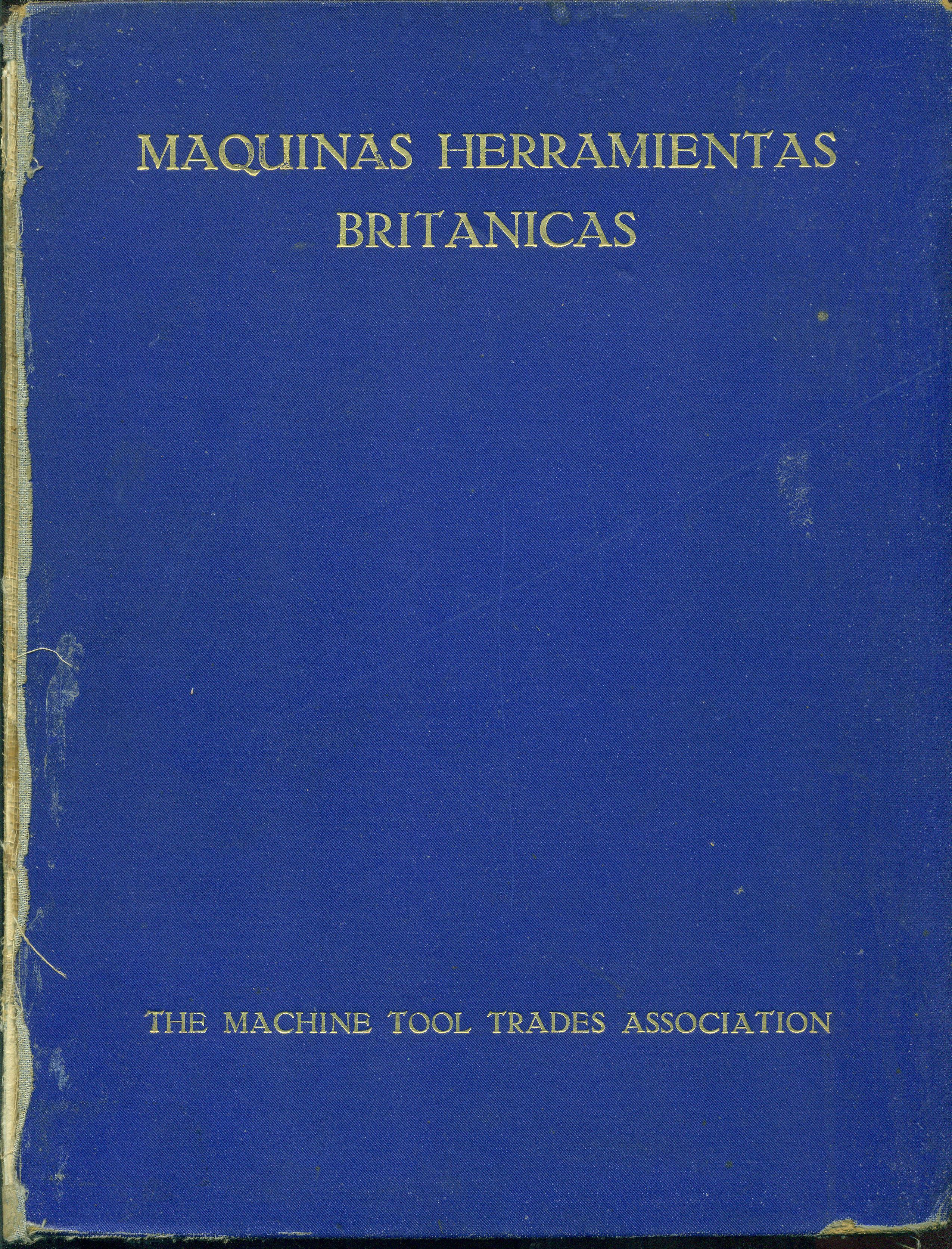 MÁQUINAS HERRAMIENTA BRITÁNICAS