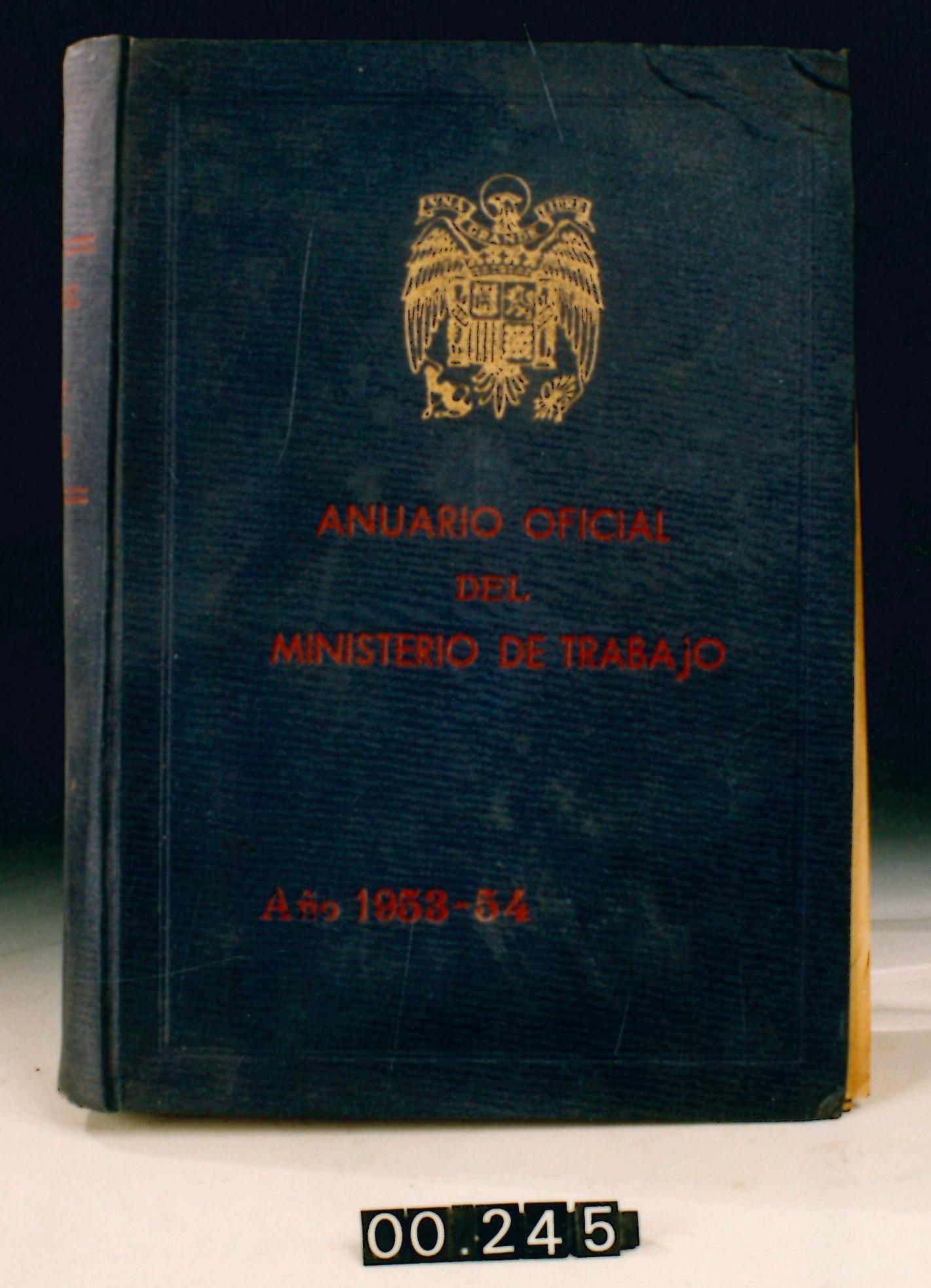 Anuario Oficial del Ministerio de Trabajo