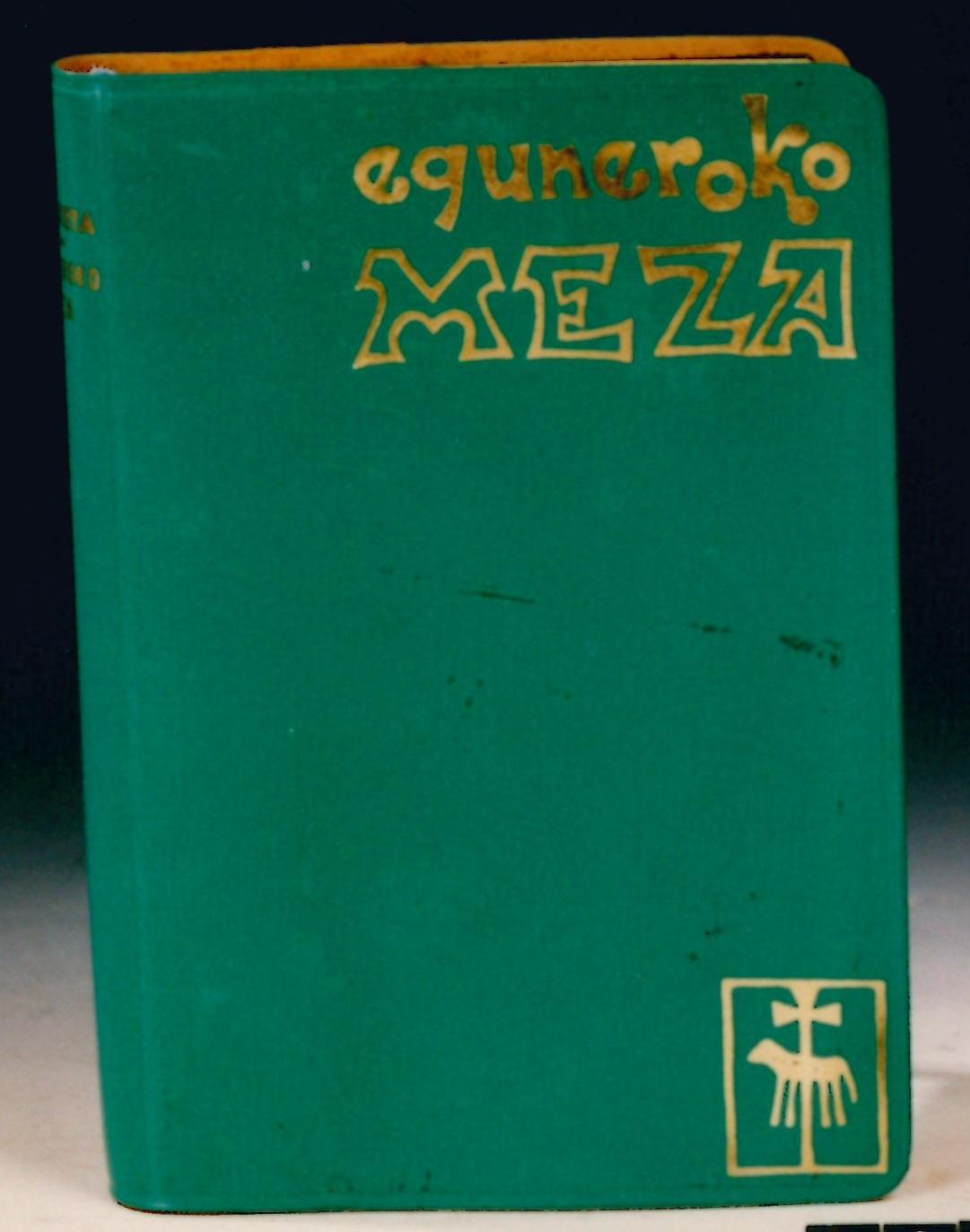 """""""Eguneroko Meza"""""""
