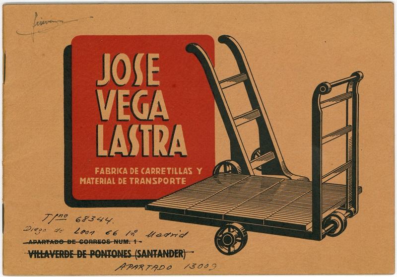 Fábrica de carretillas y material de transporte José Vega Lastra