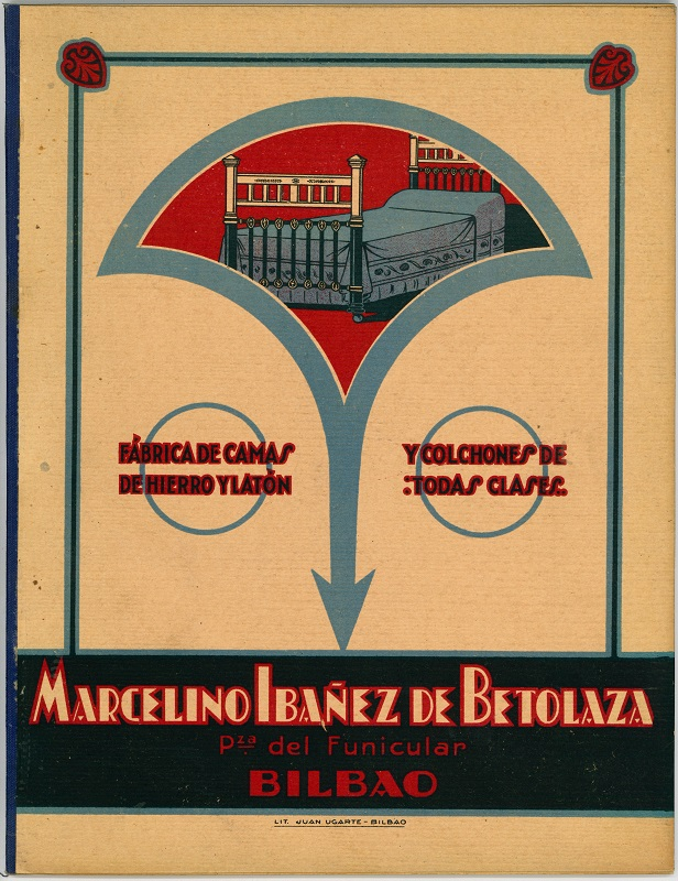 Fábrica de camas de Marcelino Ibañez de Betolaza