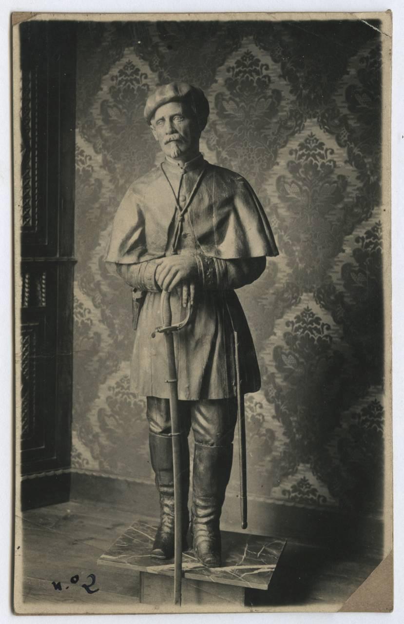 El jefe de Miqueletes Urdanpilleta