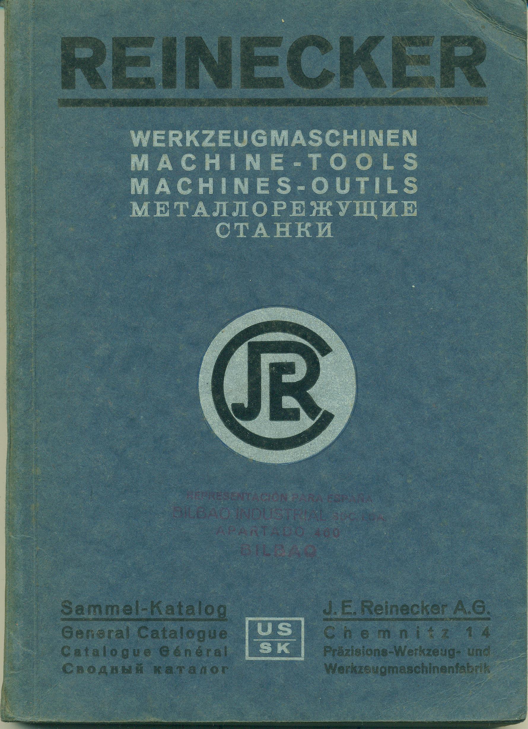 J. E. REINECKER A.-G. (Empresa)