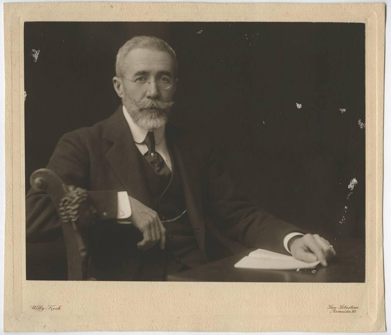 """Retrato de Mariano de Zuaznavar. Ex Alcalde de San Sebastián"""