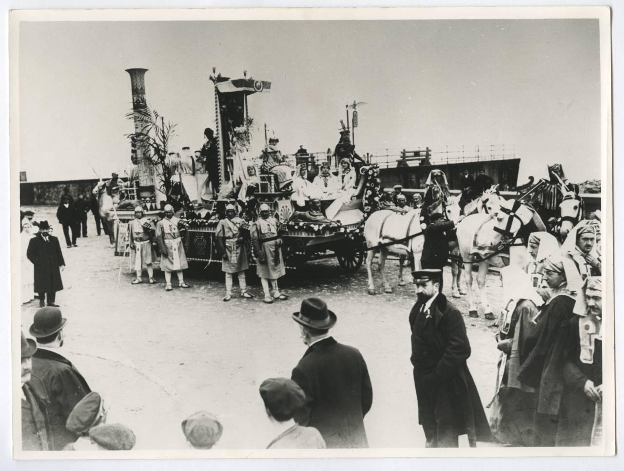 Carroza de un carnaval