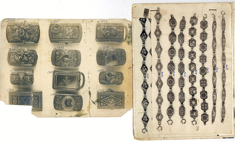 Catálogo del damasquinador F. Agustín Larrañaga