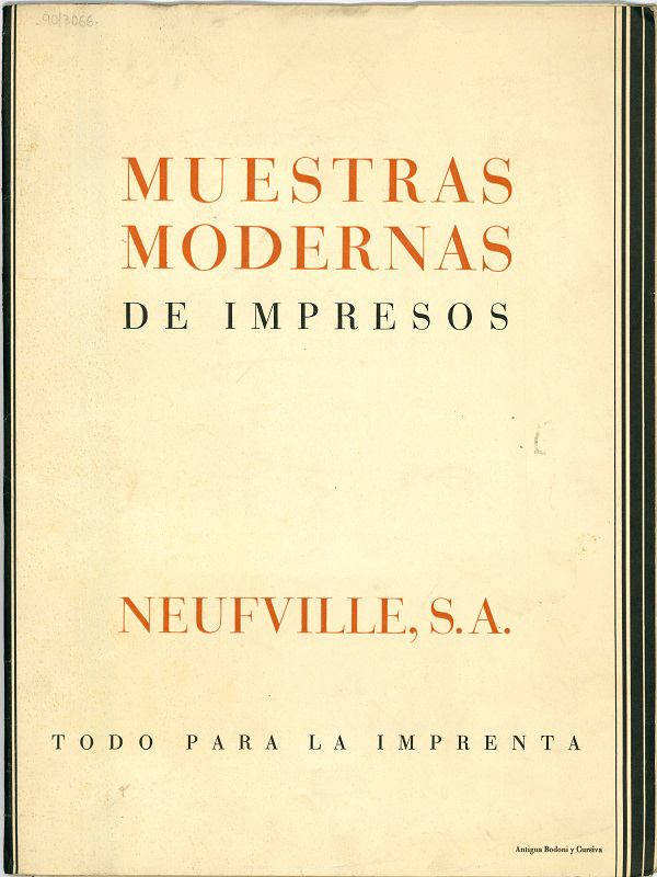 """Muestras Modernas de Impresos"""