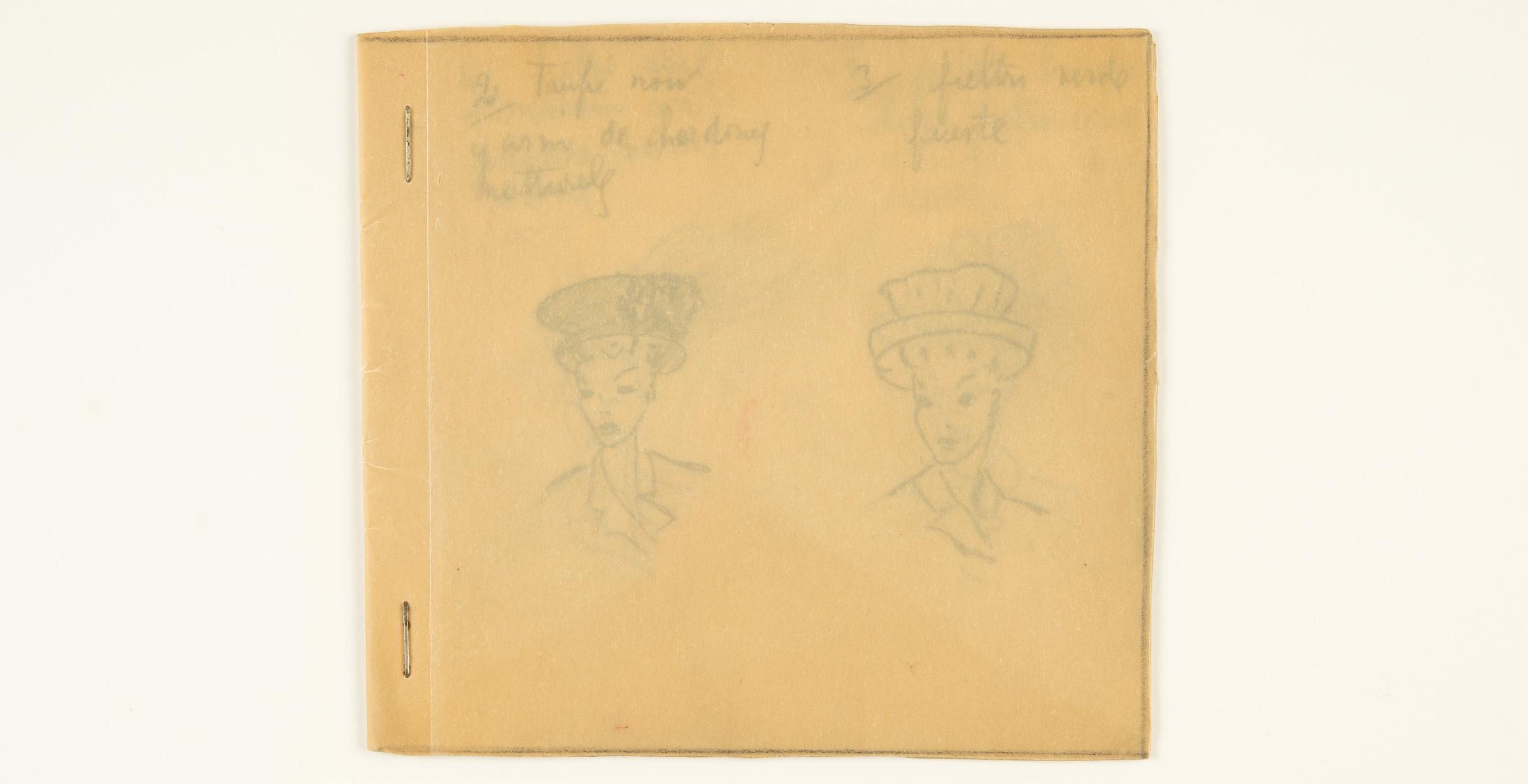 Cuaderno de Dibujos de sombreros