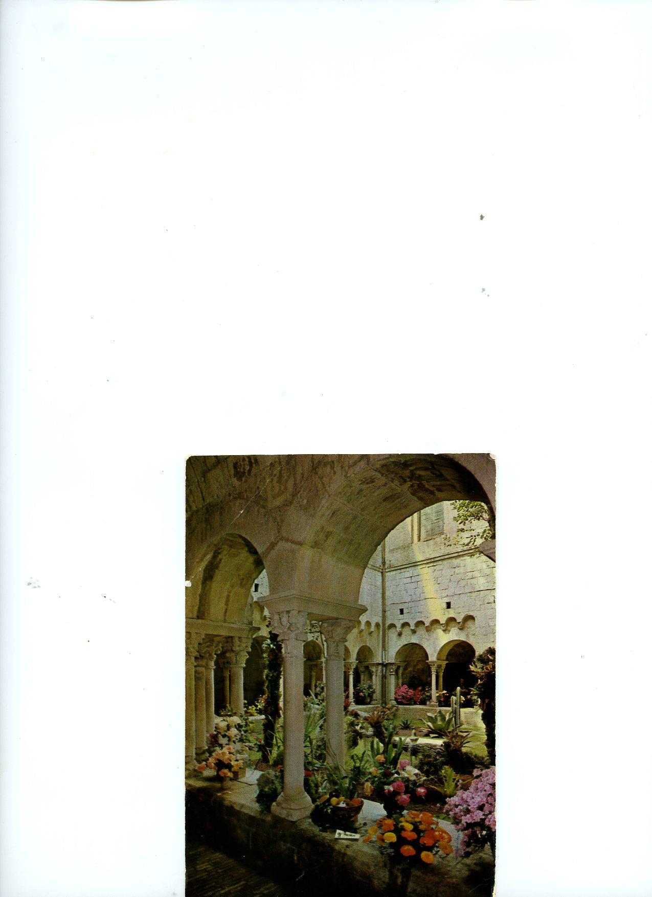 Postal de Museo San Pedro Galligans, Gerona, enviada por Cristobal Y Ramón a Mrs Paul Mellon