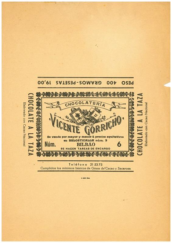 Chocolatería Vicente Gorricho