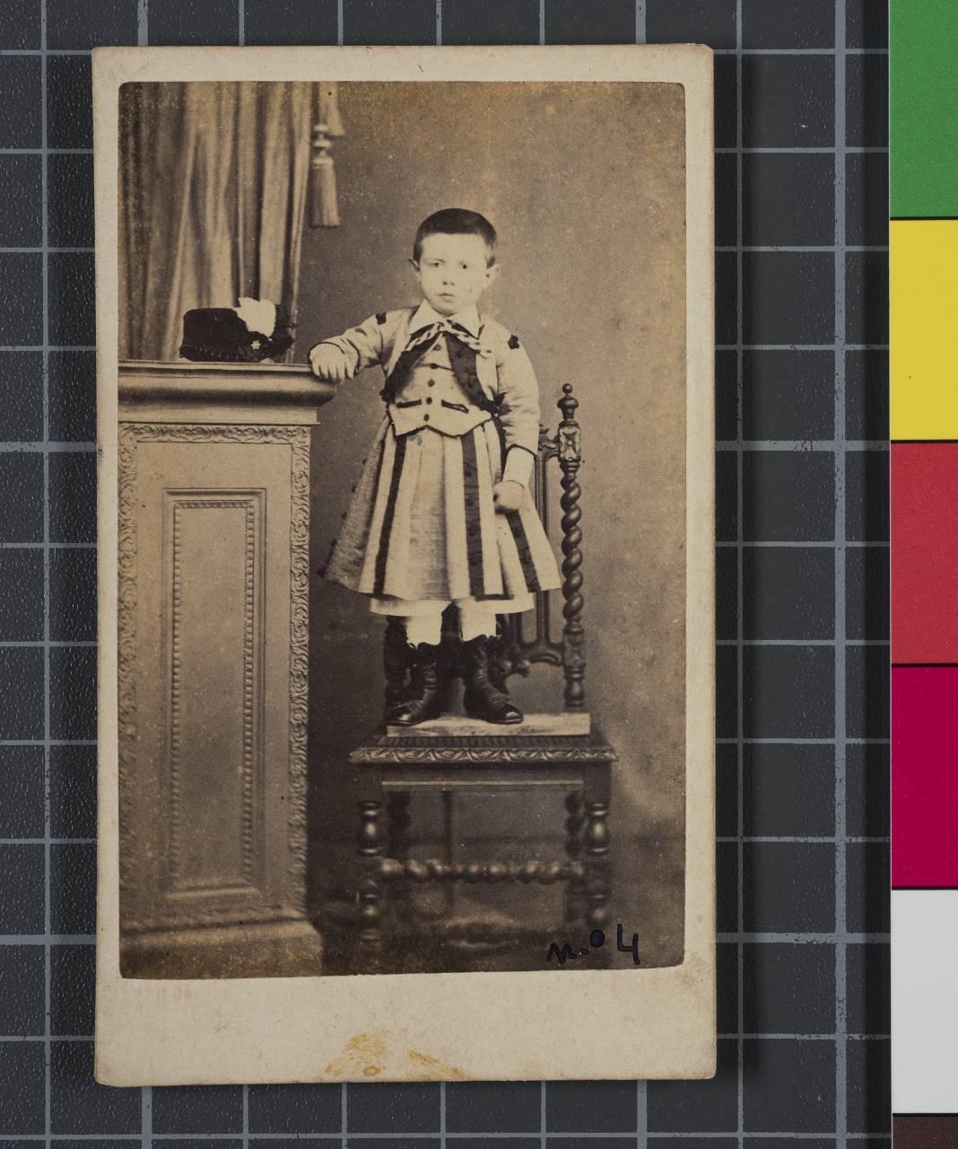 Retrato del niño Ramón Anza.