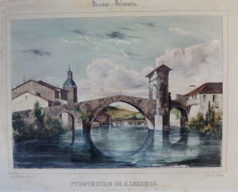"""Vizcaya - Valmaseda / Puente Viejo de S. Lorenzo"""