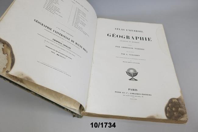 """""""Atlas Universel de Géographie Ancienne et Moderne"""""""