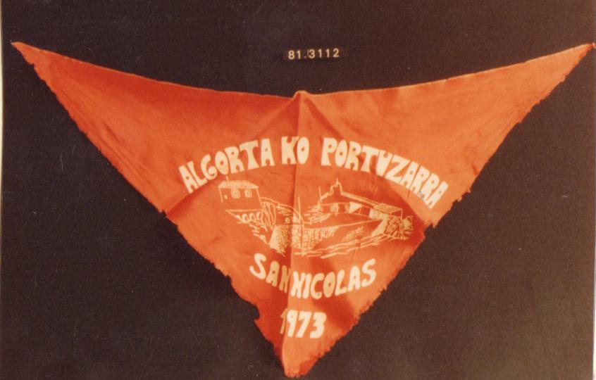 Algortako Portuzarra. San Nicolás 1973
