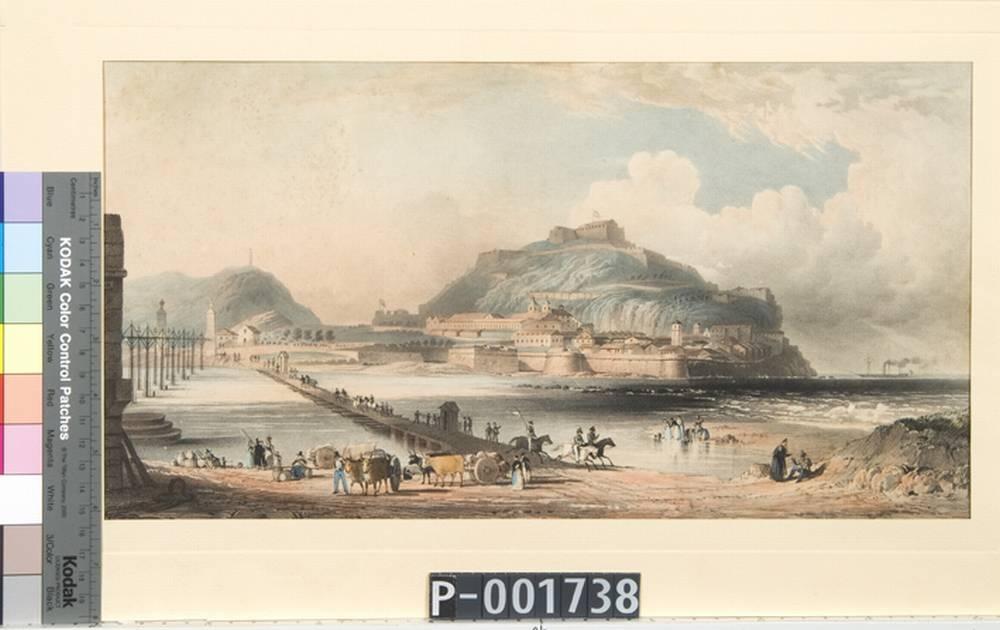 """""""Vista de San Sebastian desde el convento de San Francisco"""""""