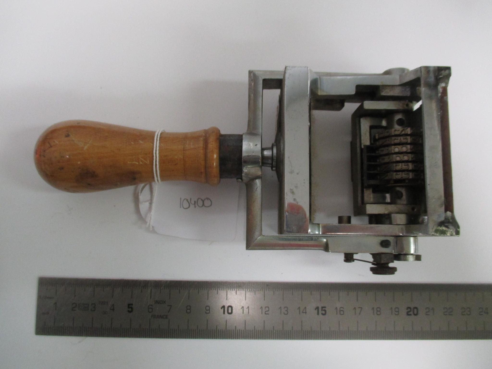 Numerador SIMES modelo 550