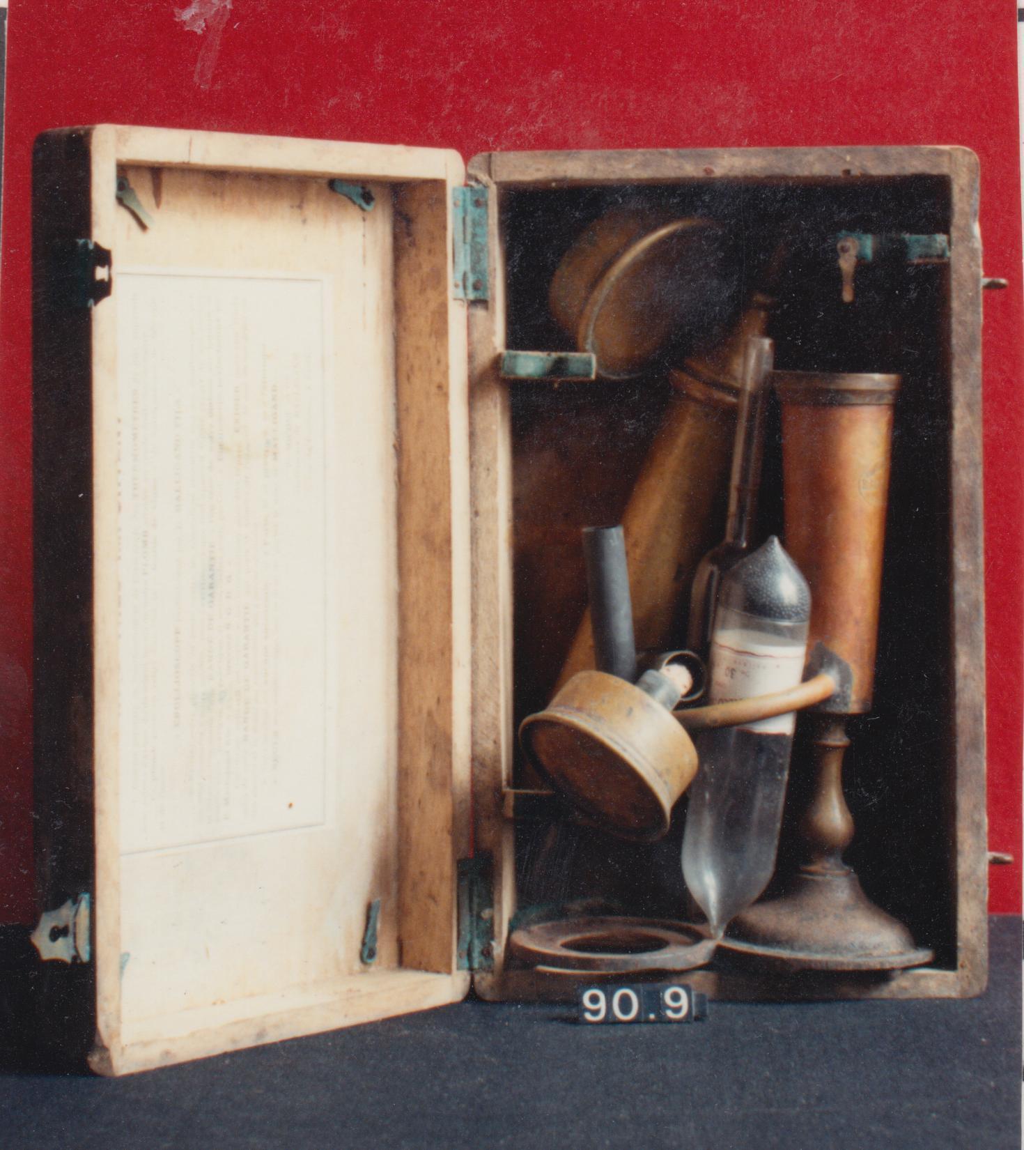 Ebulloscopio de Malligand