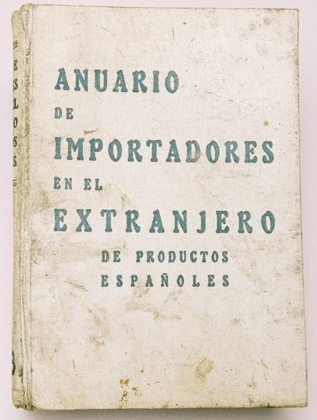 """""""Anuario de importadores en el extranjero de Productos Españoles"""""""