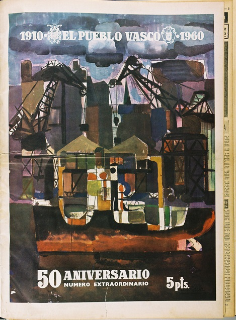 """1910. El Pueblo Vasco. 1960"""