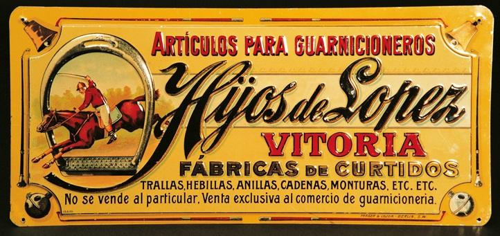 """""""Hijos de López. Vitoria. Fábricas de Curtidos"""""""