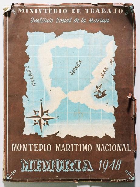 """""""Montepío Marítimo Nacional. Memoria 1948"""""""