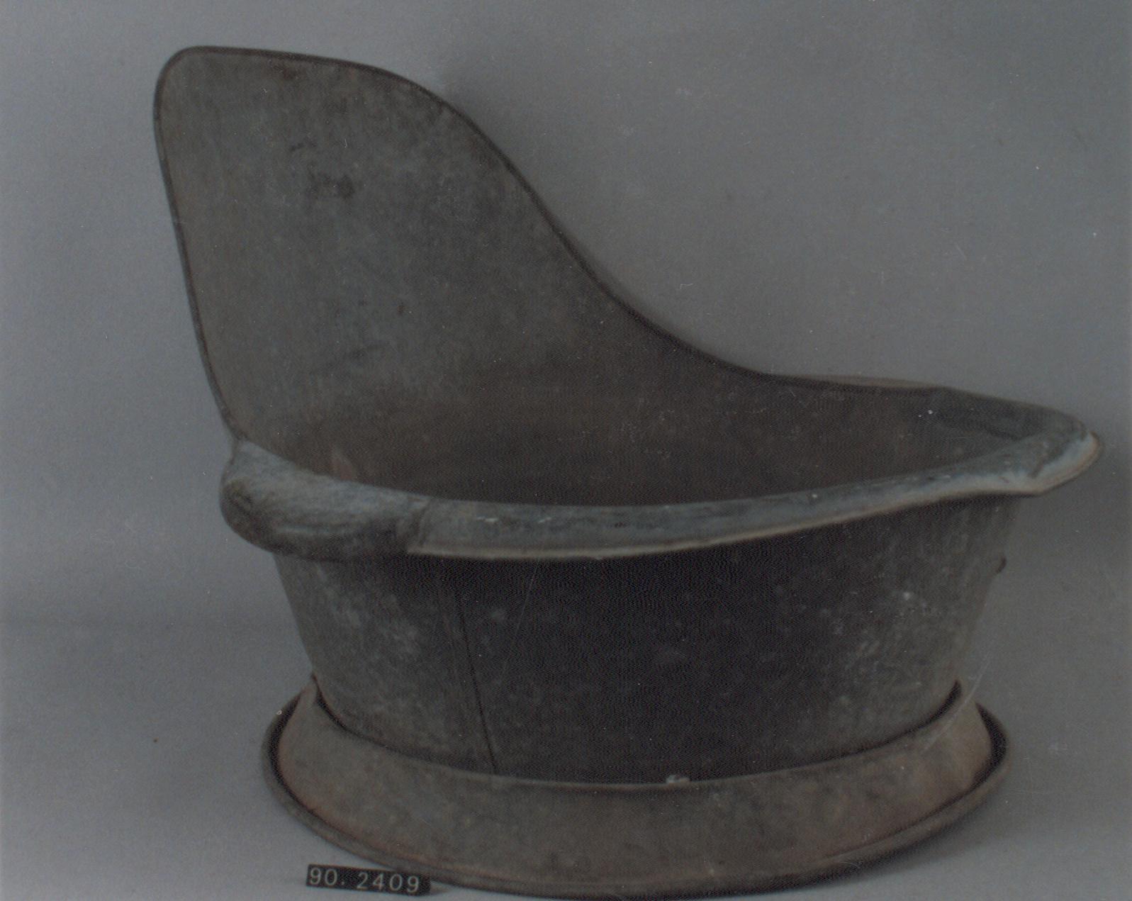 Bañera de asiento