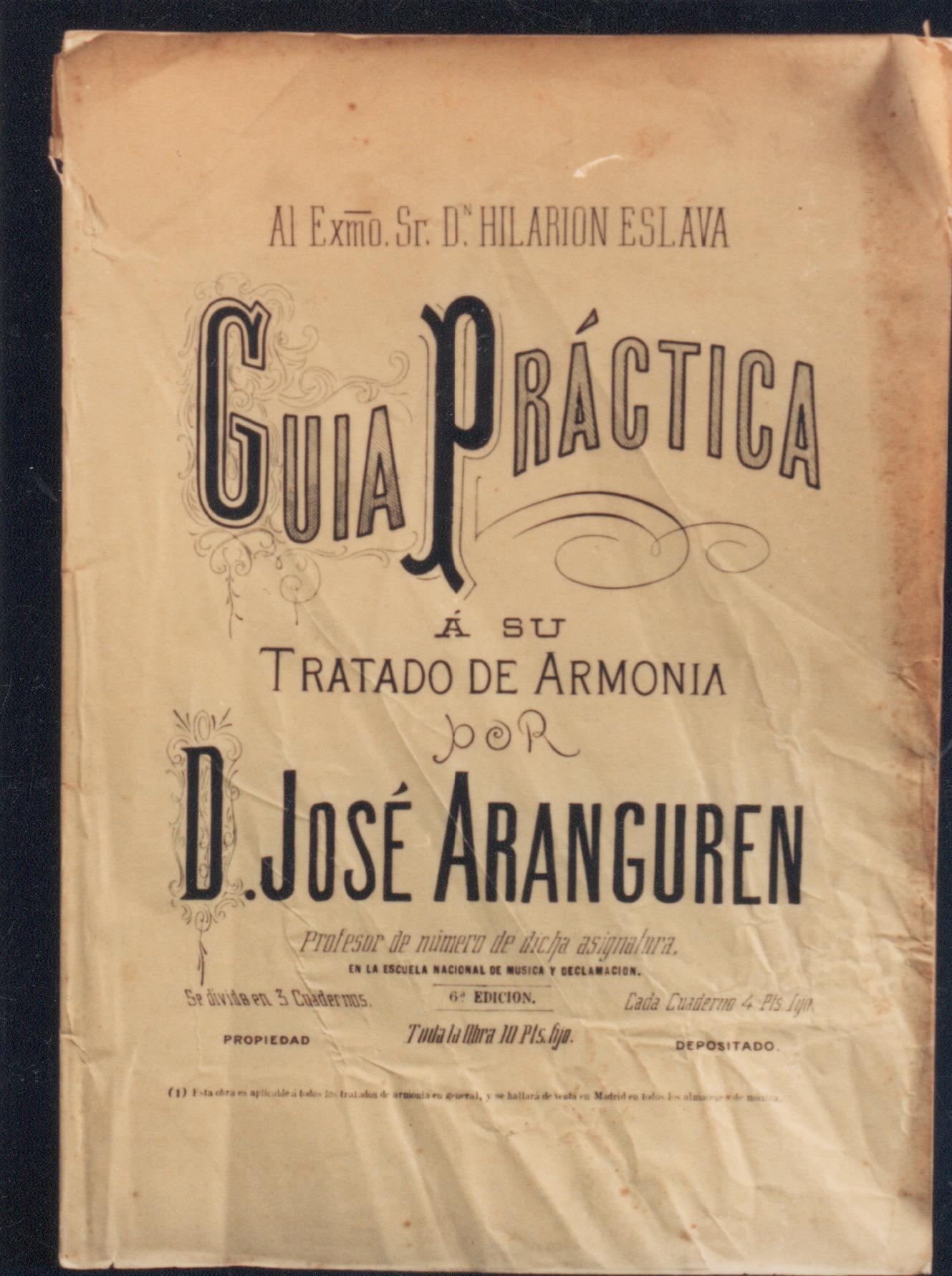 """""""Guía práctica al Tratado de Armonía de Hilarión Eslava"""""""