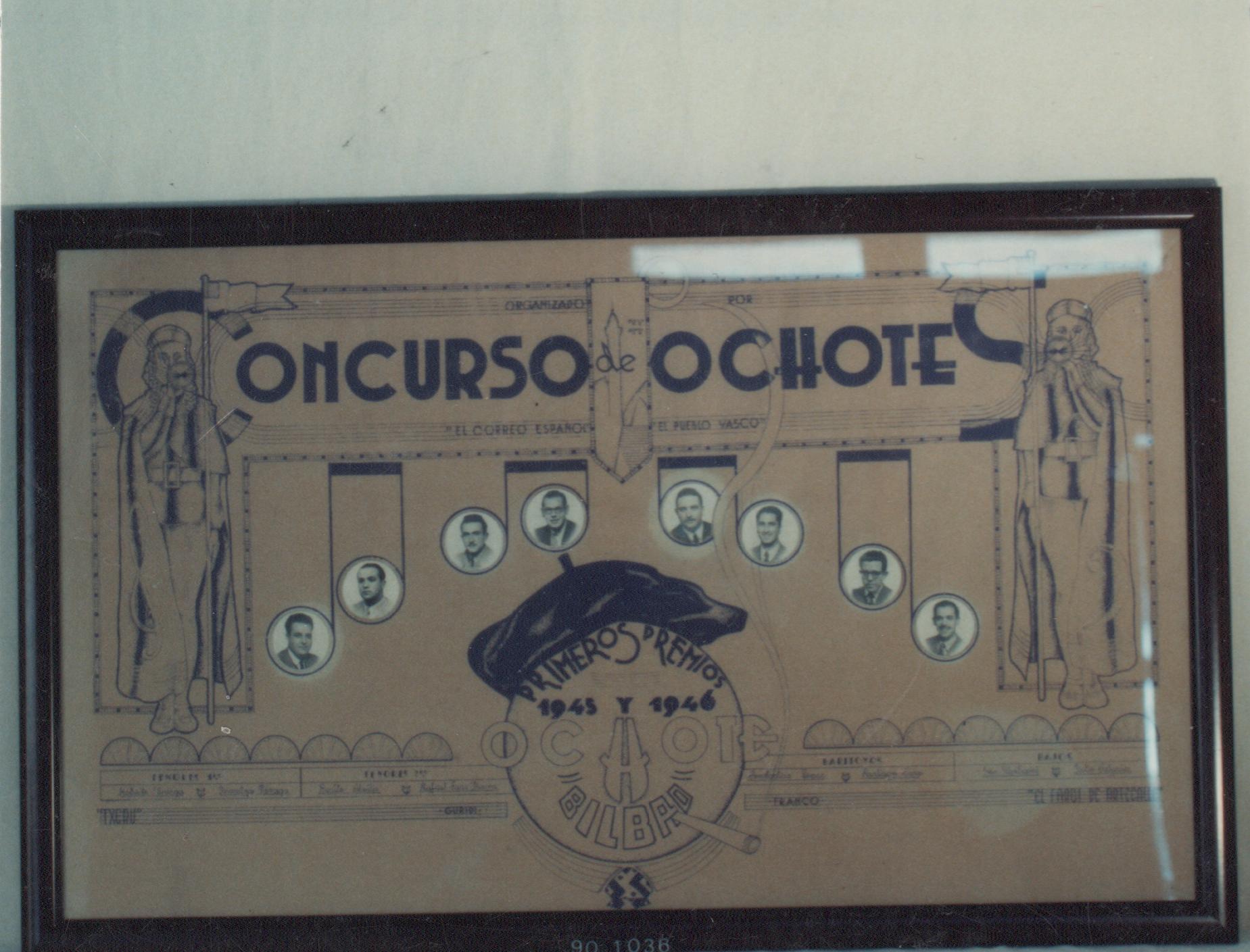 """""""Concurso de Ochotes El Correo Español-El Pueblo Vasco"""""""