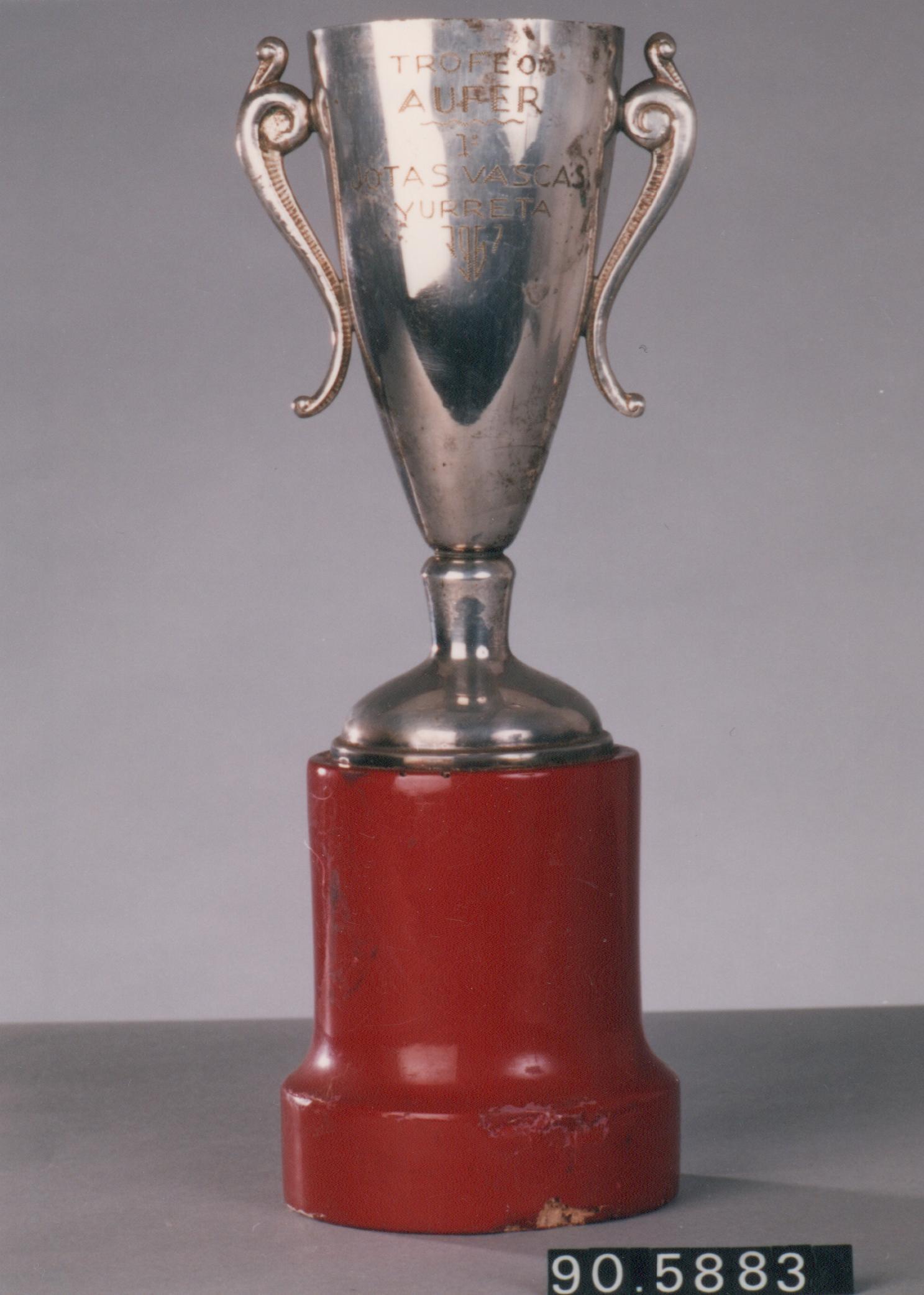 """Trofeo Aufer. 1º Jotas Vascas. Yurreta 1967"""