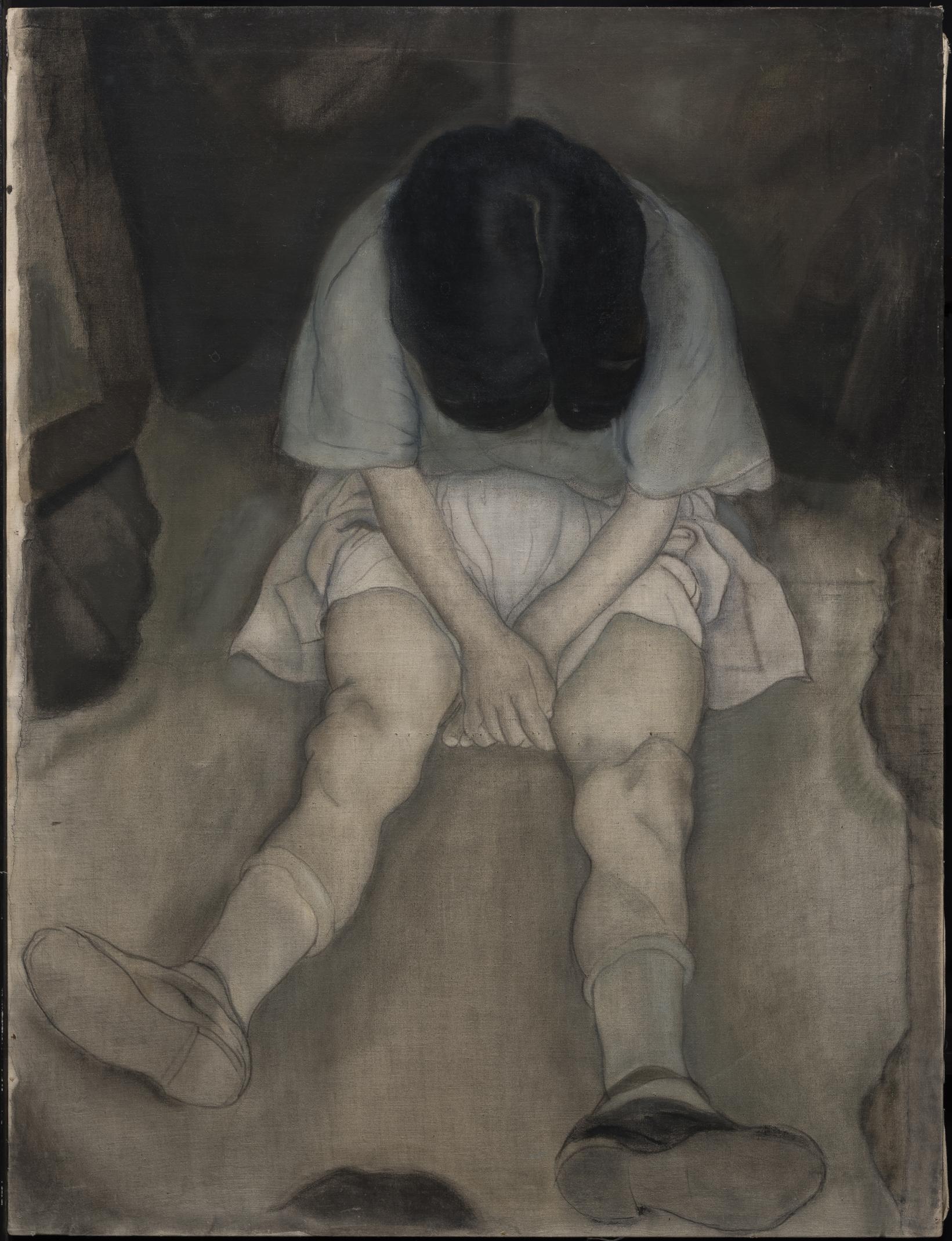 La niña triste